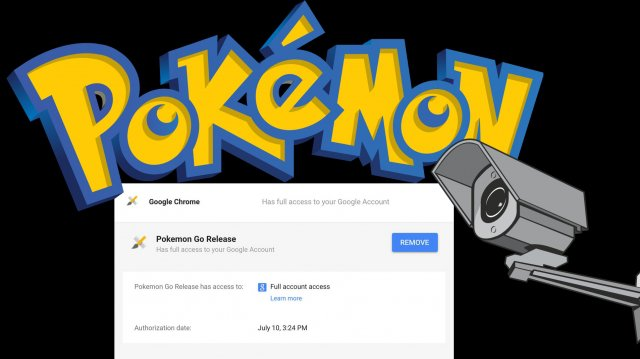 Pokemon Go Privacy